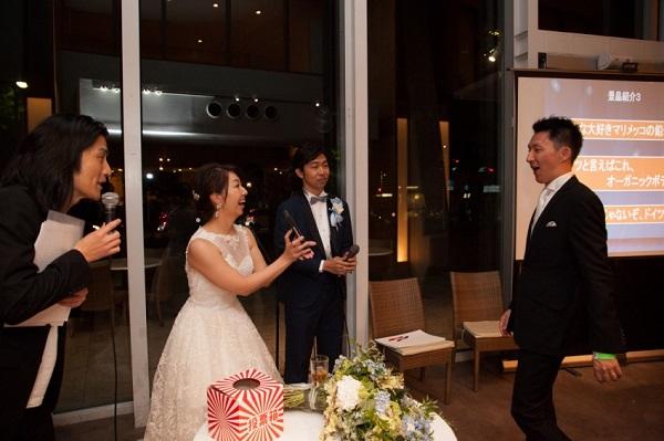 結婚 式 余興